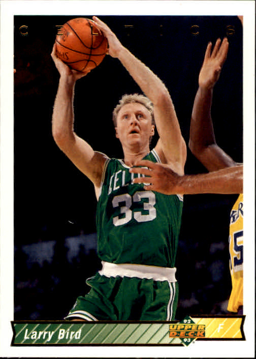 1992-93 Upper Deck #33A Larry Bird SP