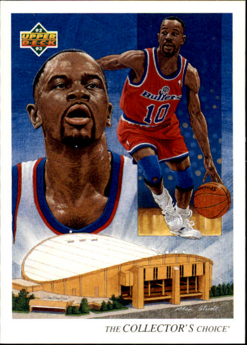 1992-93 Upper Deck #36 Michael Adams TC