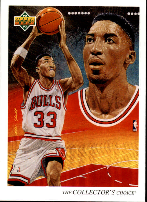 1992-93 Upper Deck #37 Scottie Pippen TC