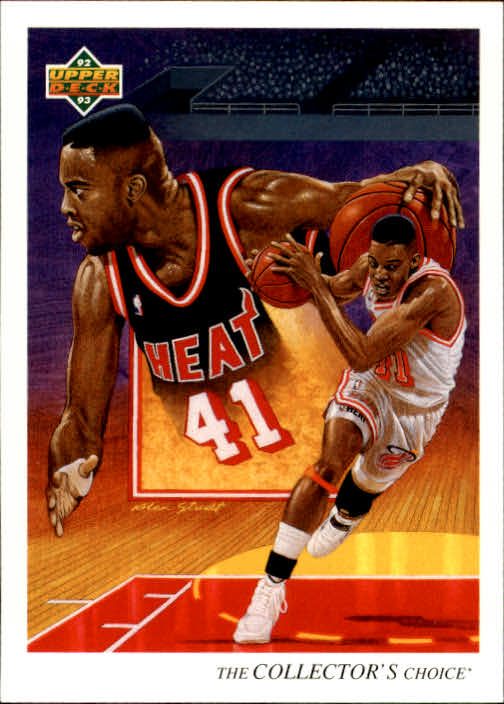 1992-93 Upper Deck #42 Glen Rice TC