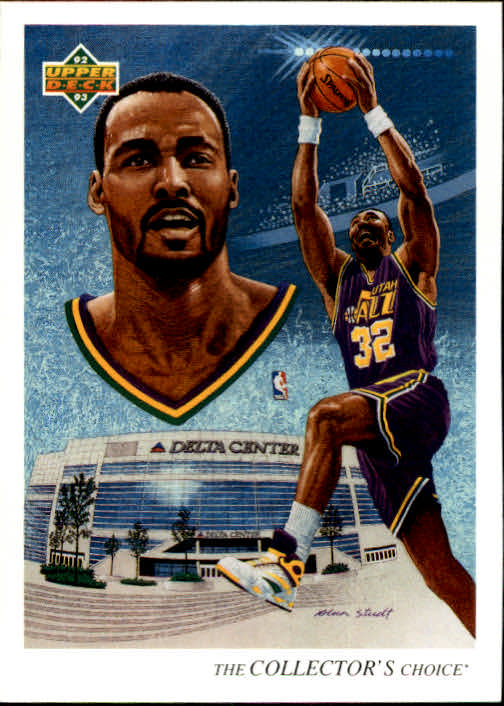1992-93 Upper Deck #44 Karl Malone TC