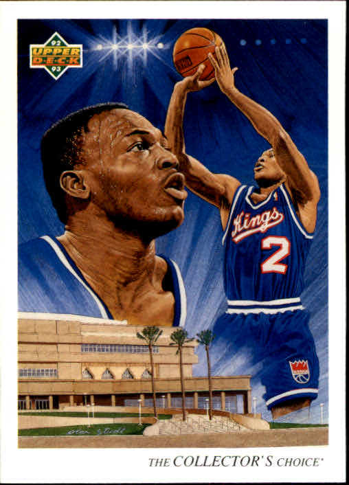 1992-93 Upper Deck #45 Mitch Richmond TC