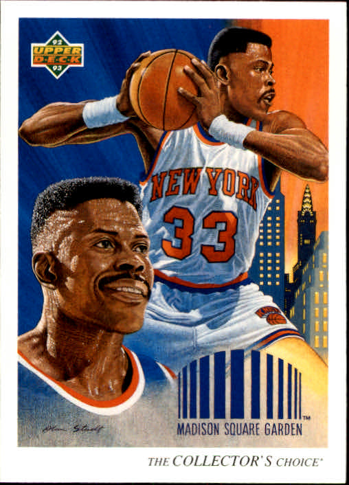 1992-93 Upper Deck #46 Patrick Ewing TC
