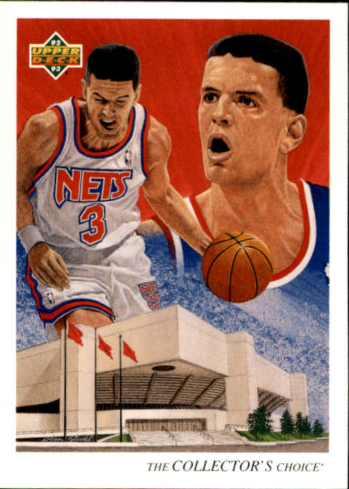 1992-93 Upper Deck #50 Drazen Petrovic TC
