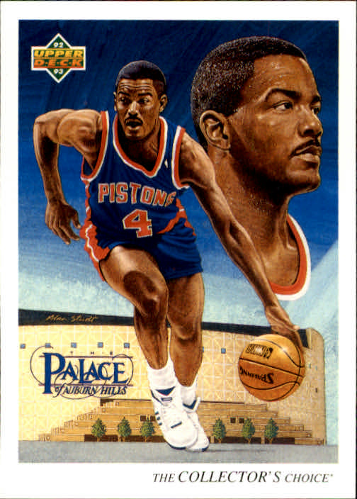 1992-93 Upper Deck #53 Joe Dumars TC