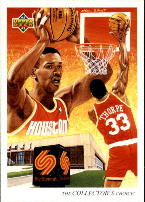 1992-93 Upper Deck #54 Otis Thorpe TC