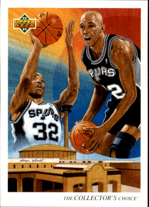1992-93 Upper Deck #56 Sean Elliott TC