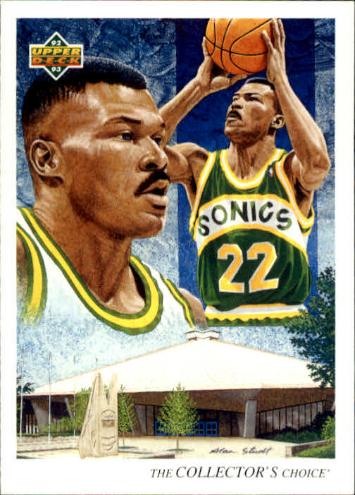1992-93 Upper Deck #58 Ricky Pierce TC