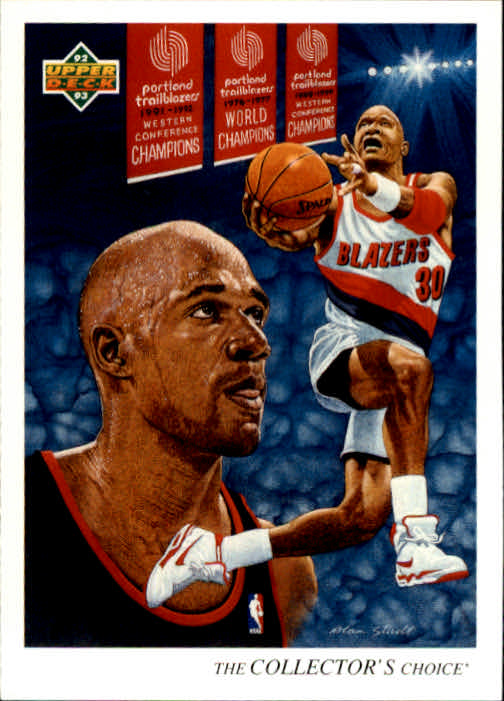 1992-93 Upper Deck #60 Terry Porter TC