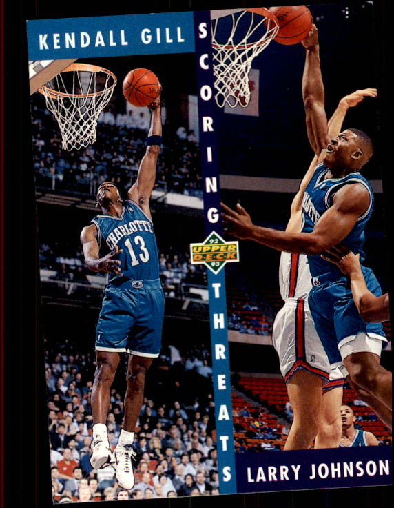 1992-93 Upper Deck #63 K.Gill/L.Johnson ST