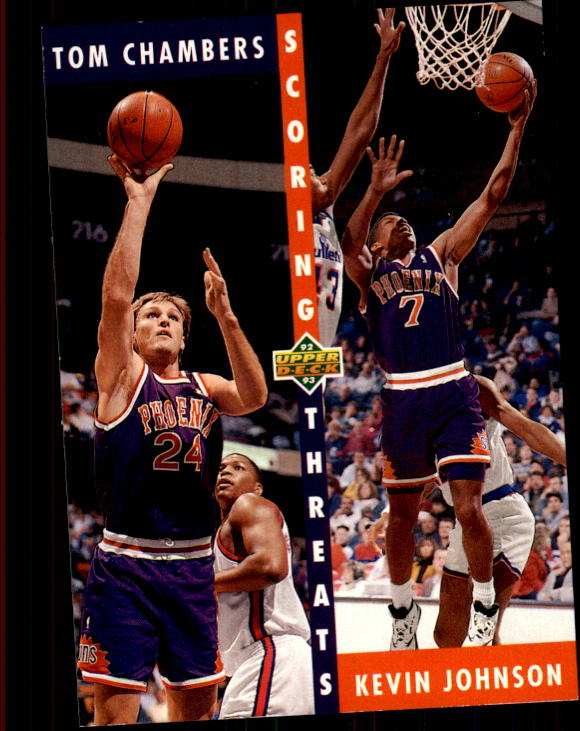 1992-93 Upper Deck #64 T.Chambers/K.Johnson ST