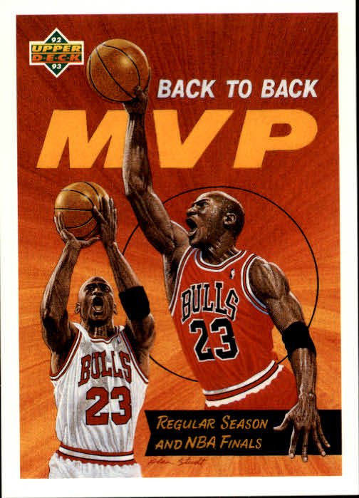 1992-93 Upper Deck #67 Michael Jordan MVP