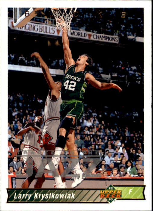 1992-93 Upper Deck #72 Larry Krystkowiak