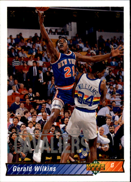 1992-93 Upper Deck #73 Gerald Wilkins
