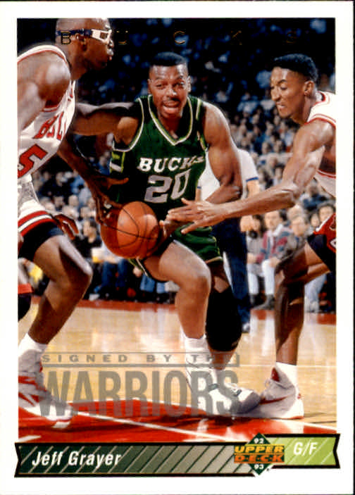 1992-93 Upper Deck #77 Jeff Grayer