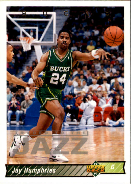 1992-93 Upper Deck #81 Jay Humphries