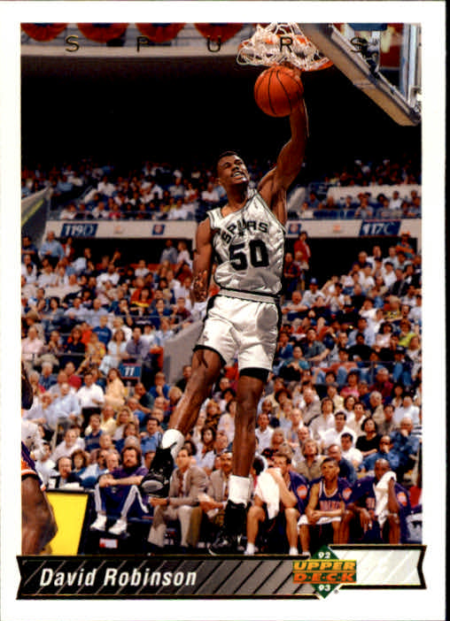 1992-93 Upper Deck #82 David Robinson