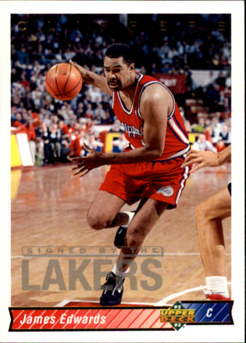 1992-93 Upper Deck #84 James Edwards