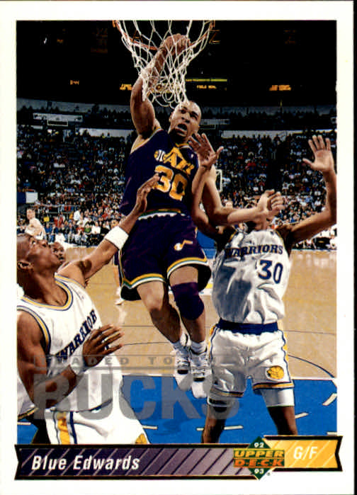 1992-93 Upper Deck #87 Blue Edwards