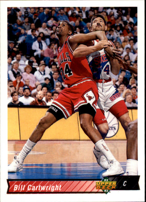 1992-93 Upper Deck #93 Bill Cartwright