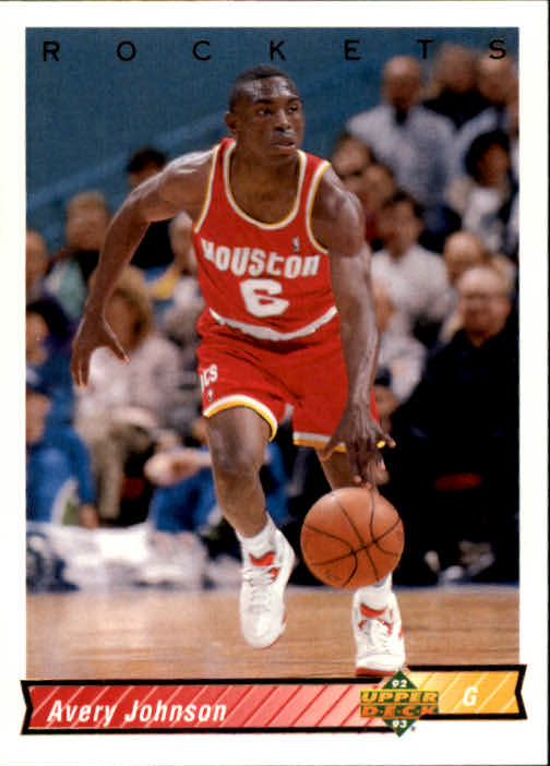 1992-93 Upper Deck #94 Avery Johnson