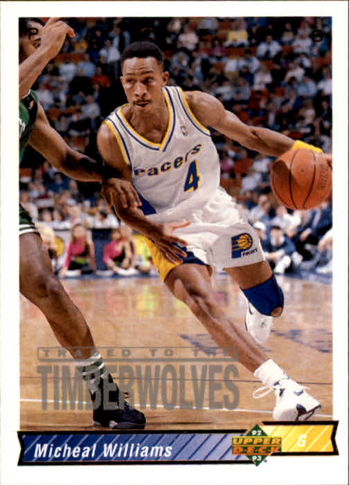 1992-93 Upper Deck #95 Micheal Williams
