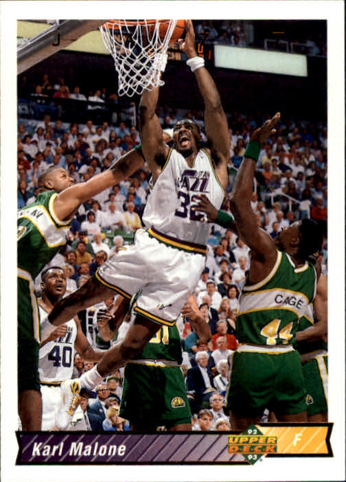 1992-93 Upper Deck #112 Karl Malone