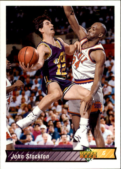 1992-93 Upper Deck #116 John Stockton