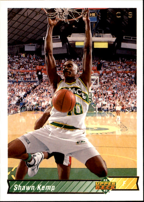 1992-93 Upper Deck #240 Shawn Kemp