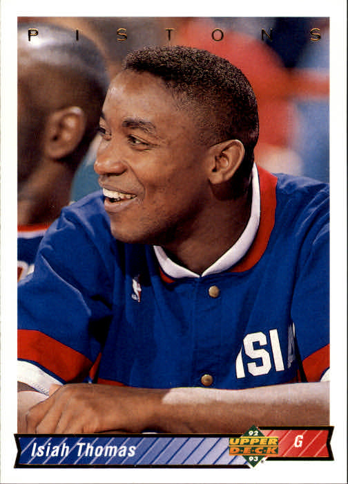 1992-93 Upper Deck #263 Isiah Thomas