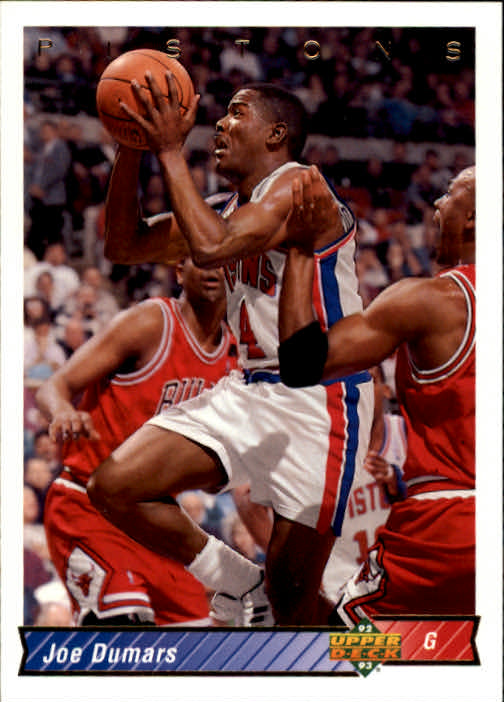 1992-93 Upper Deck #268 Joe Dumars/Michael Jordan