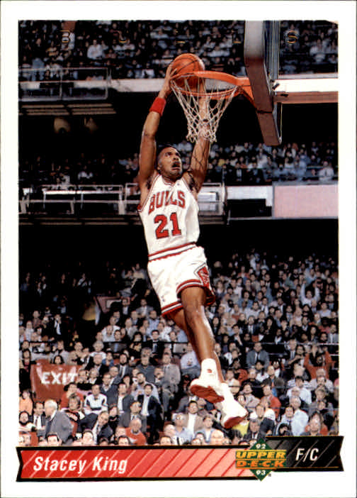 1992-93 Upper Deck #285 Stacey King/Michael Jordan