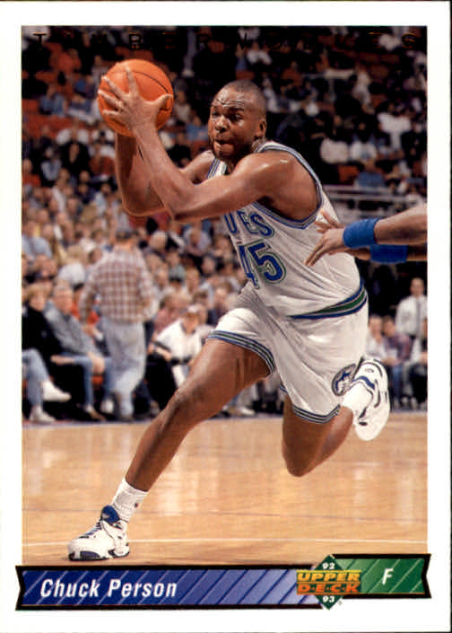 1992-93 Upper Deck #345 Chuck Person