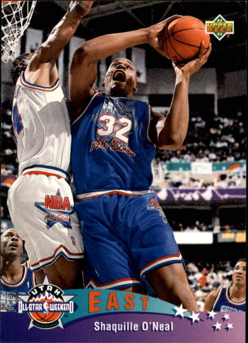 1992-93 Upper Deck #424 Shaquille O'Neal AS