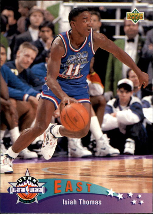 1992-93 Upper Deck #426 Isiah Thomas AS