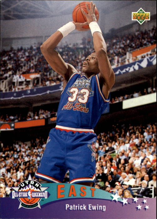 1992-93 Upper Deck #429 Patrick Ewing AS