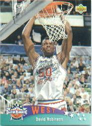1992-93 Upper Deck #436 David Robinson AS