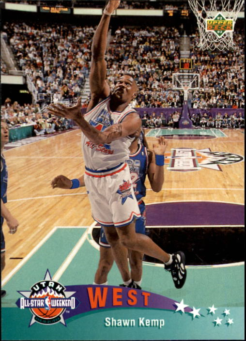 1992-93 Upper Deck #441 Shawn Kemp AS