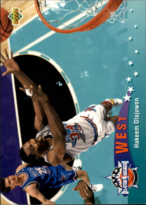 1992-93 Upper Deck #444 Hakeem Olajuwon AS
