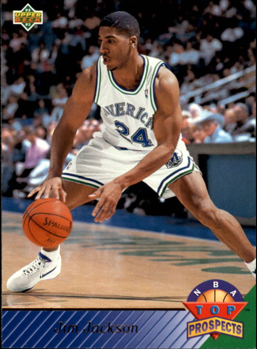 1992-93 Upper Deck #458 Jim Jackson TP