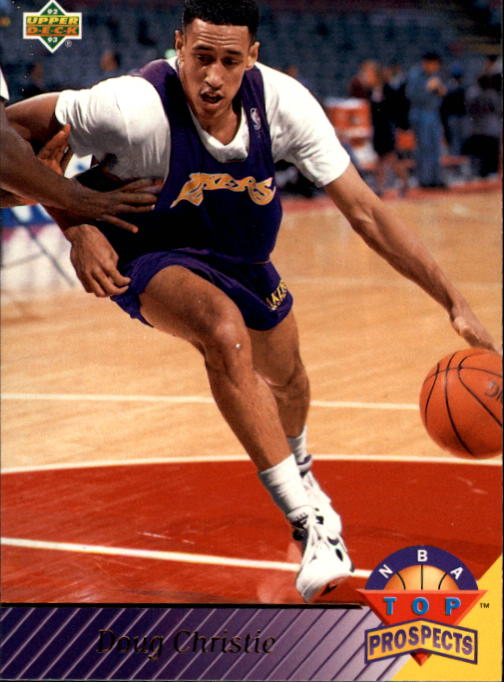 1992-93 Upper Deck #466 Doug Christie TP