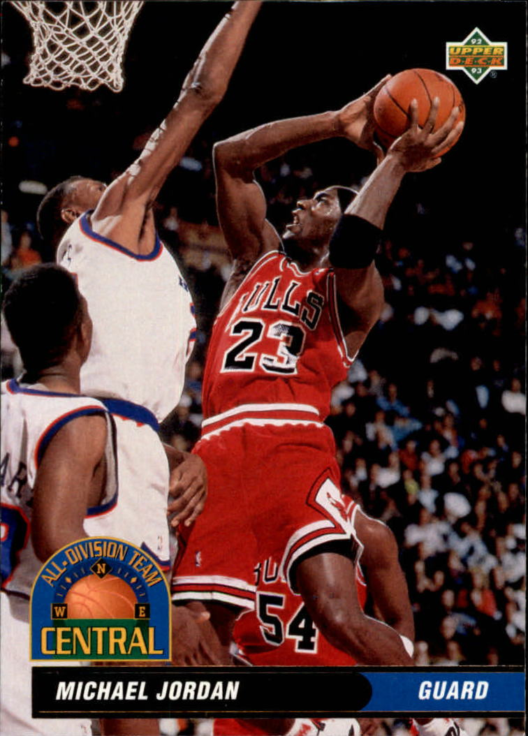 1992-93 Upper Deck All-Division #AD9 Michael Jordan