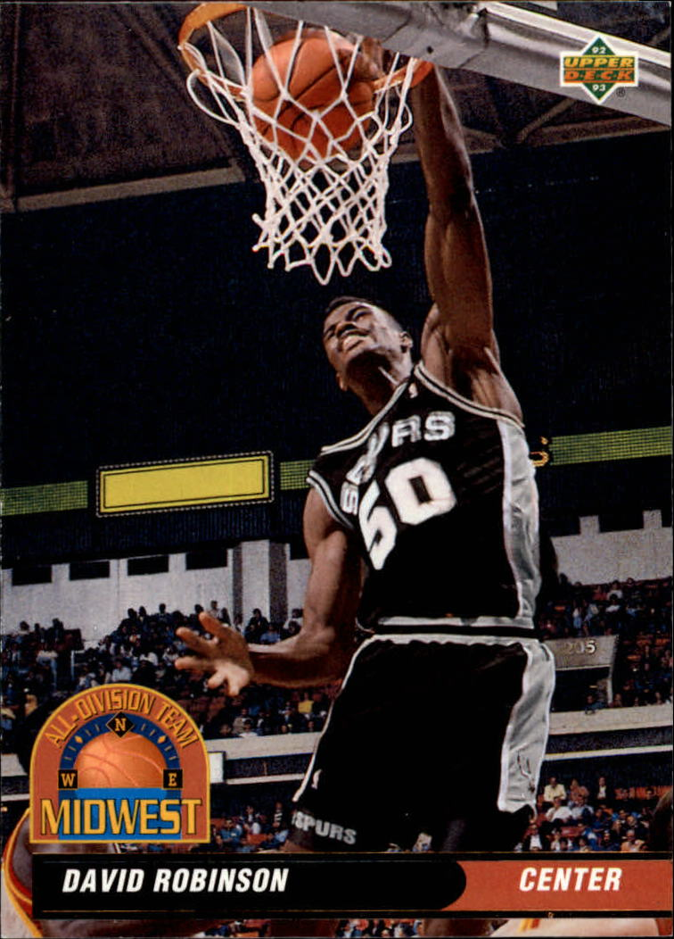1992-93 Upper Deck All-Division #AD11 David Robinson