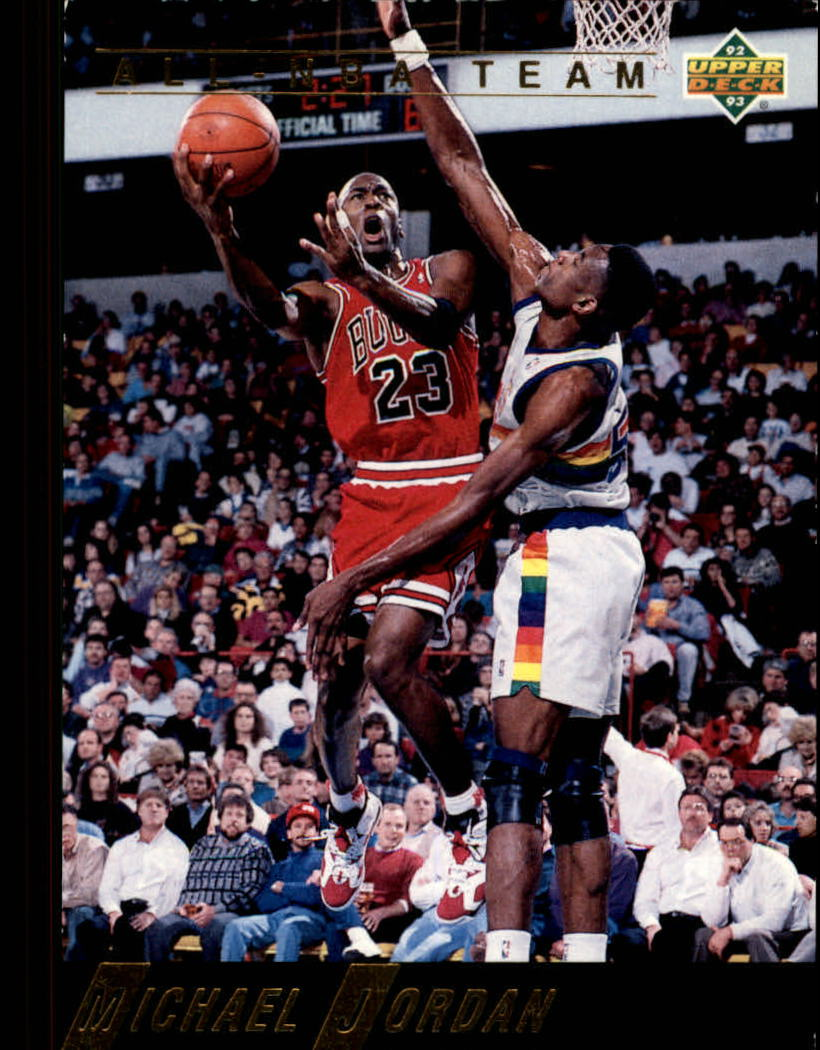 1992-93 Upper Deck All-NBA #AN1 Michael Jordan !