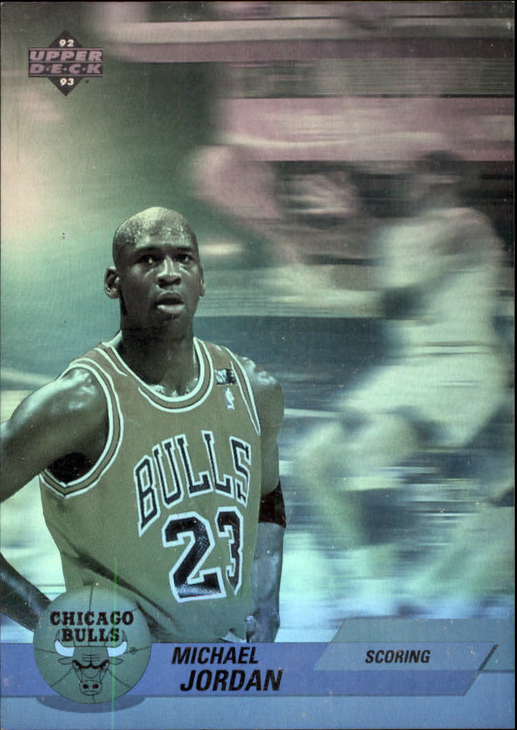 1992-93 Upper Deck Award Winner Holograms #AW1 Michael Jordan/Scoring