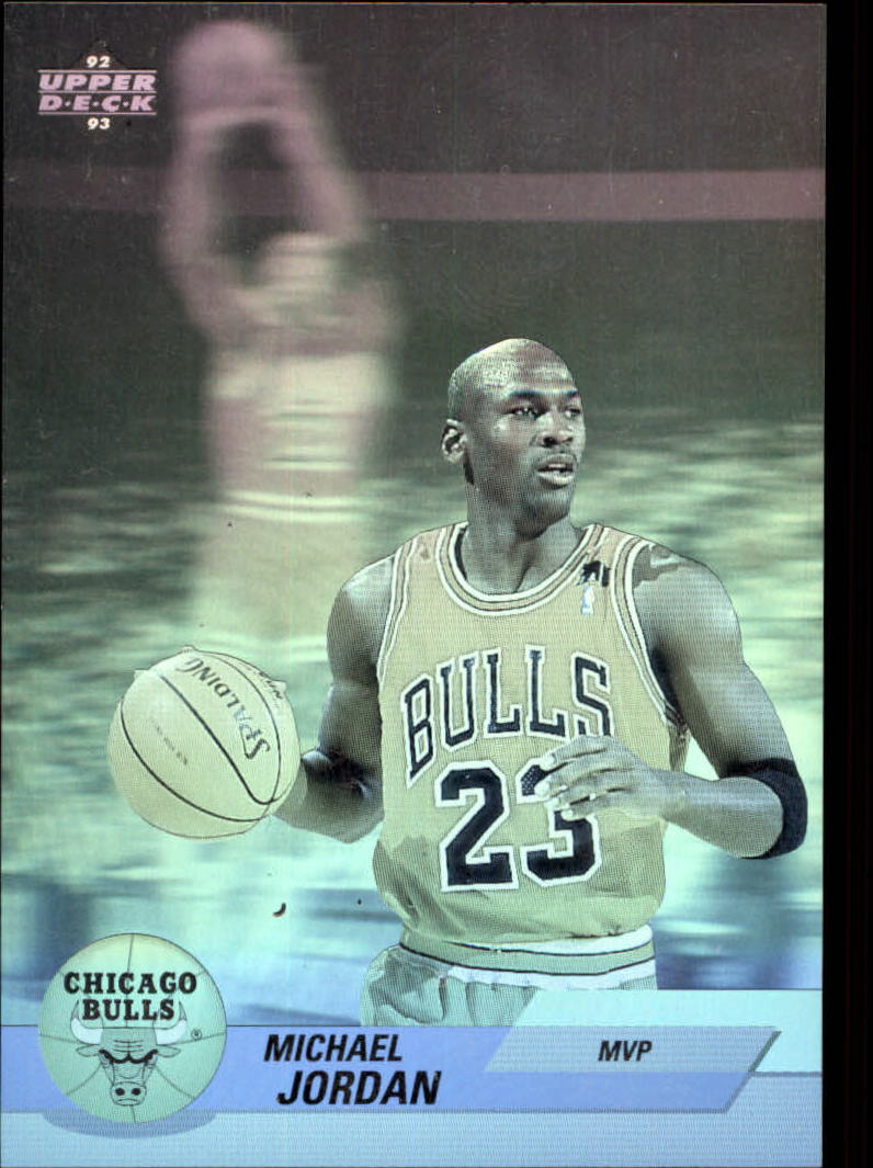 1992-93 Upper Deck Award Winner Holograms #AW9 Michael Jordan/Most Valuable Player