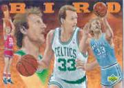 1992-93 Upper Deck Larry Bird Heroes #27 Larry Bird/(Portrait by Alan Studt)
