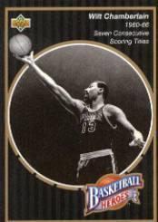 1992-93 Upper Deck Wilt Chamberlain Heroes #15 Wilt Chamberlain