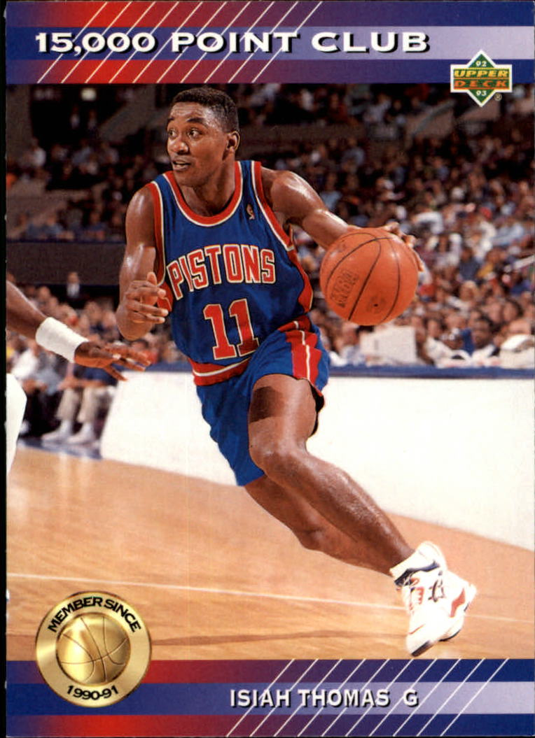 1992-93 Upper Deck 15000 Point Club #PC5 Isiah Thomas