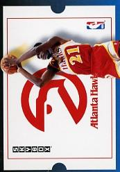 1992-93 SkyBox #282 Dominique Wilkins TT
